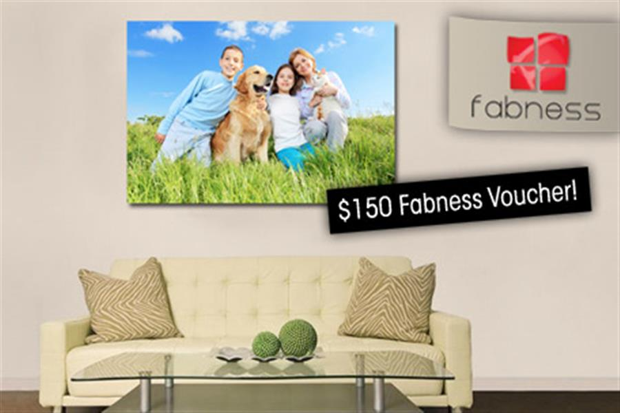 150 to spend on stunning personalised canvas prints from fabness
