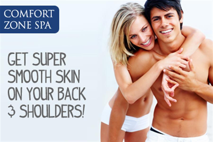Get Super Smooth Skin on Your Back and Shoulders with a