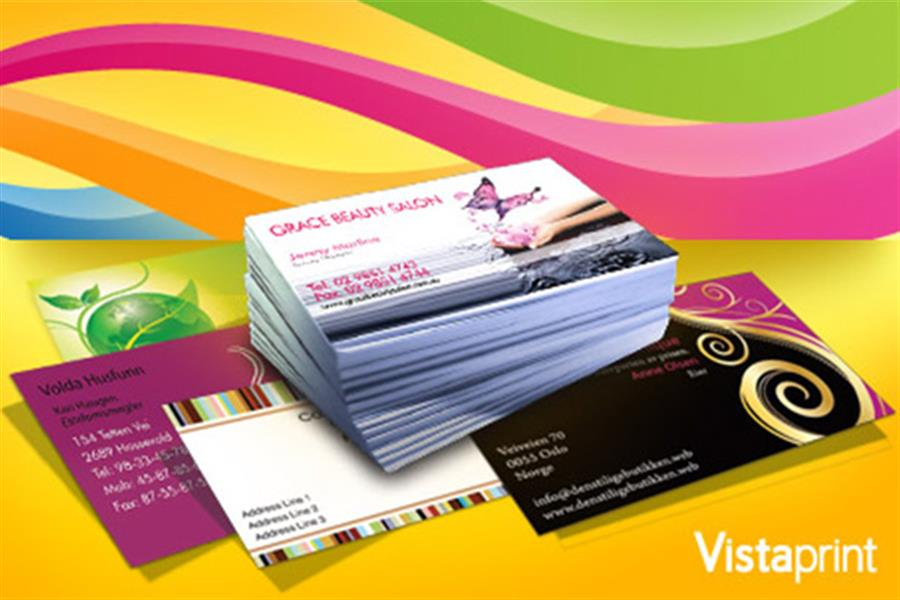 Full colour personalised business cards colourmoves