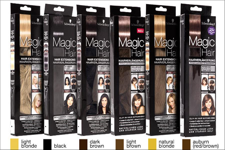 Schwarzkopf Magic Hair Extensions Delivered