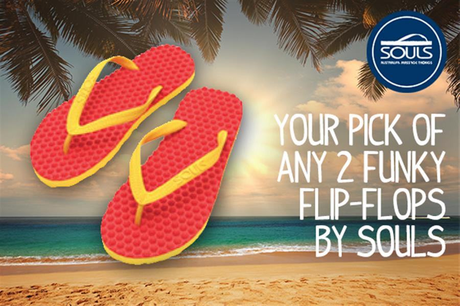94c27e0a0afe Two Pairs of Souls Thongs Delivered to Your Door - 47 Styles to Choose From