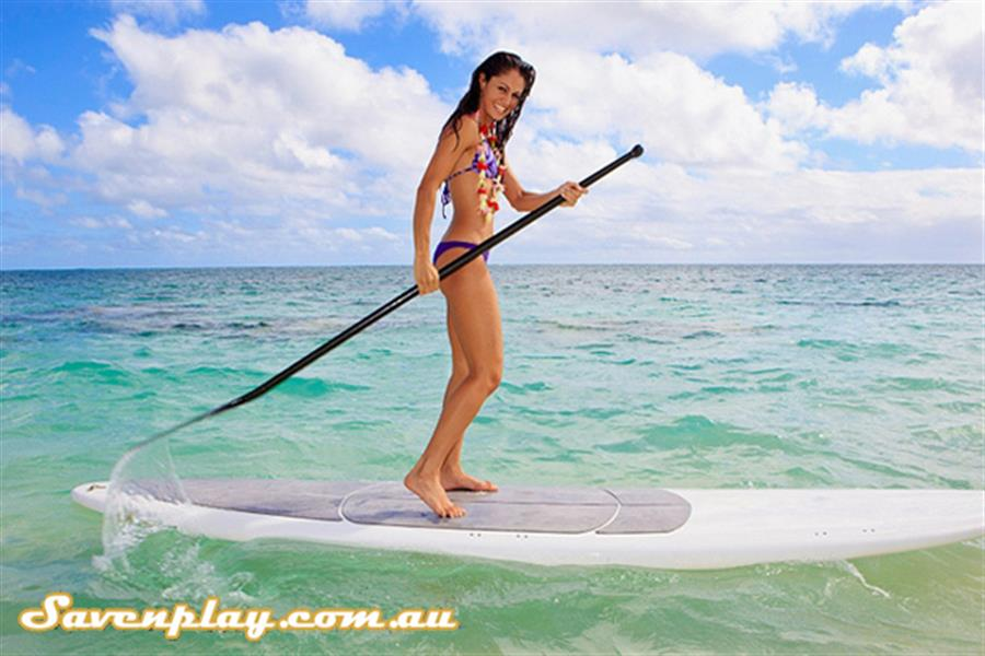 Delivered Stand Up Paddle Board Incl Grips Paddle And