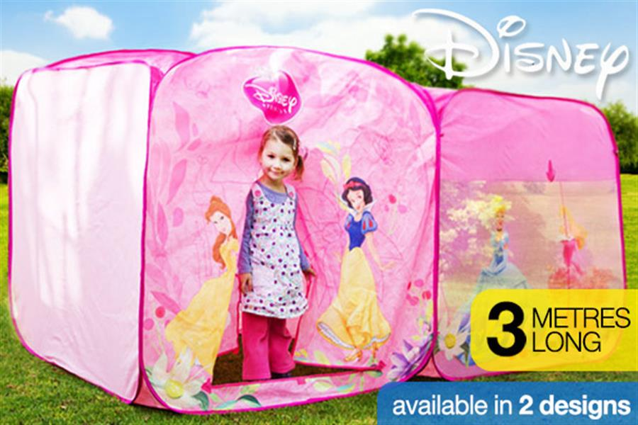 38804889a8b9 Large Disney Pop-Up Play Tent, Delivered