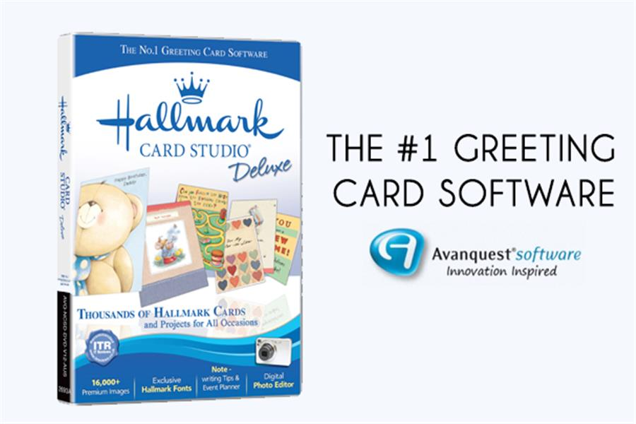 Hallmark card studio deluxe the 1 greeting card software delivered m4hsunfo