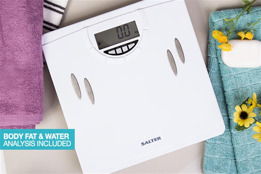 Salter Body Fat Analyser Scales Delivered