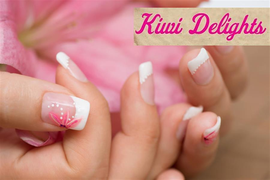 Preston Gorgeous Shellac Manicure Or Pedicure With Nail Art