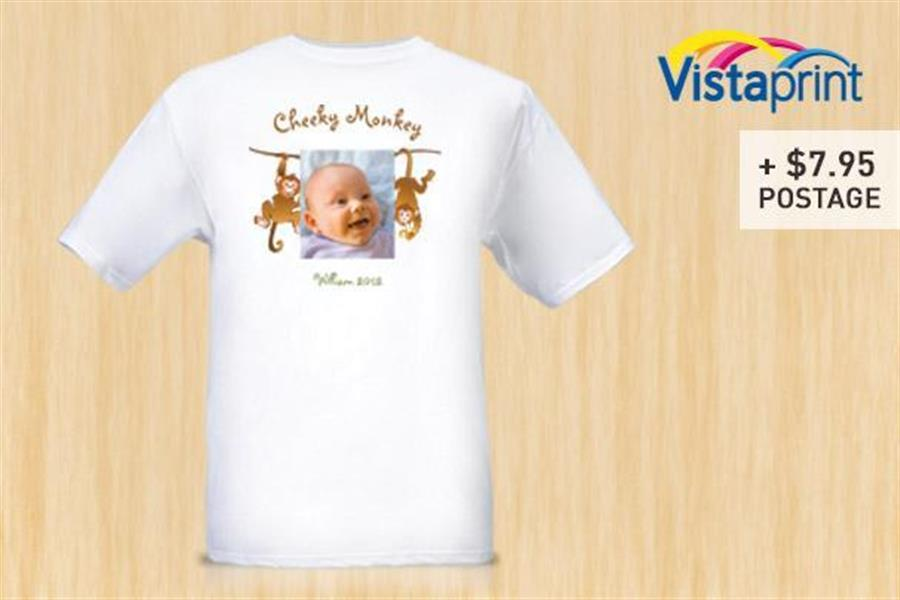 9668dfe3 Personalised T-Shirt from Vistaprint