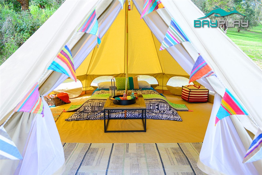 Romantic Weekend Glamping Experience for Two