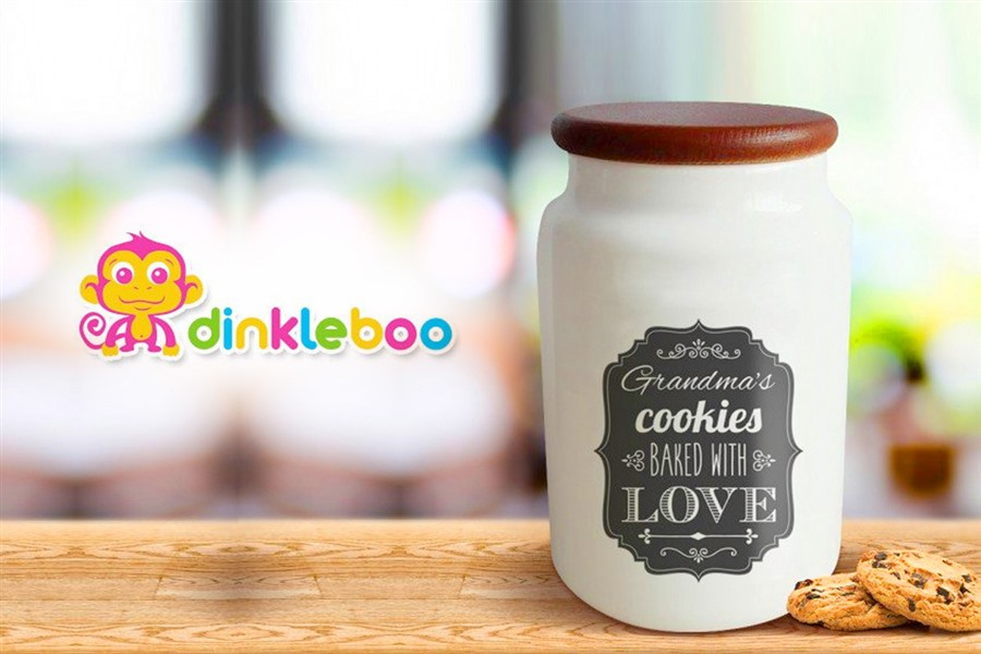 create a personalised cookie jar with your name