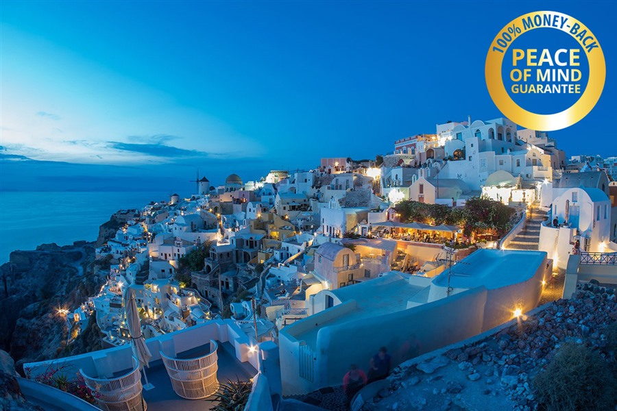 9 Day Santorini Mykonos Athens Greek Island Tour