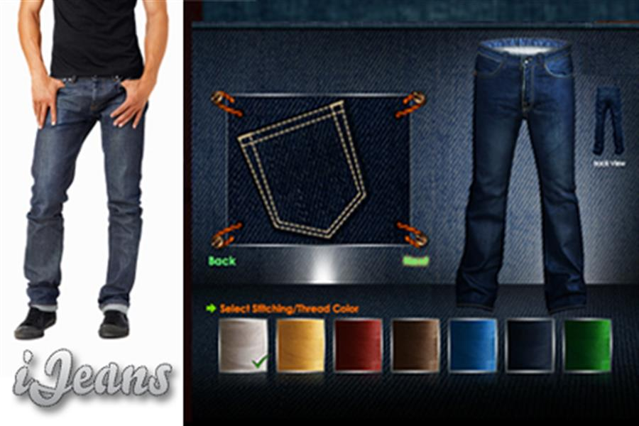 Make Your Own Jeans! Completely Custom-Designed by You to