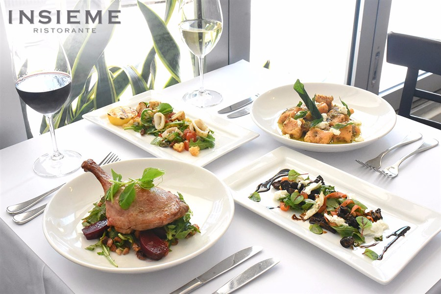 Two Courses of Fine Italian Dining with Wine in the CBD